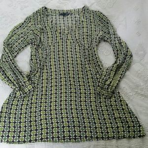 Boden mod style long sleeve mini dress